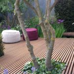 Decking laid on its edge can look fabulous