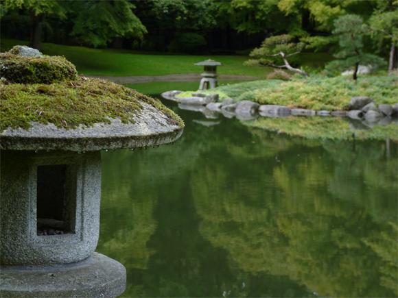 Nitobe Memorial Gardens in Canada