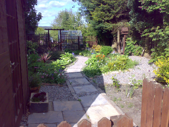 How we got to where we are: My garden in Kennet