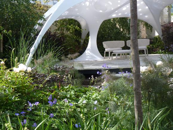 The Trailfinder's garden