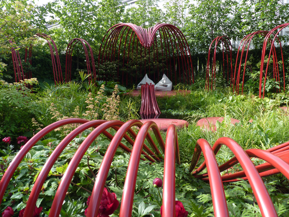 Anne-Marie Powell's garden for the British Heart Foundation
