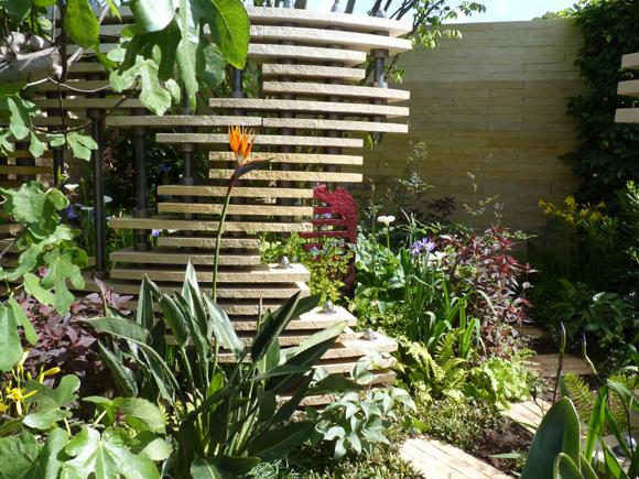 Bradstone garden