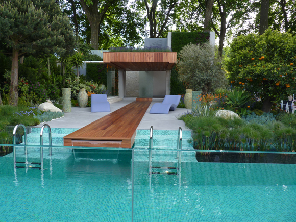The glamorous Monaco garden