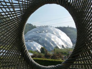 The views of the Biodomes were incredible from all angles]