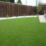 After: a lawn for all weathers