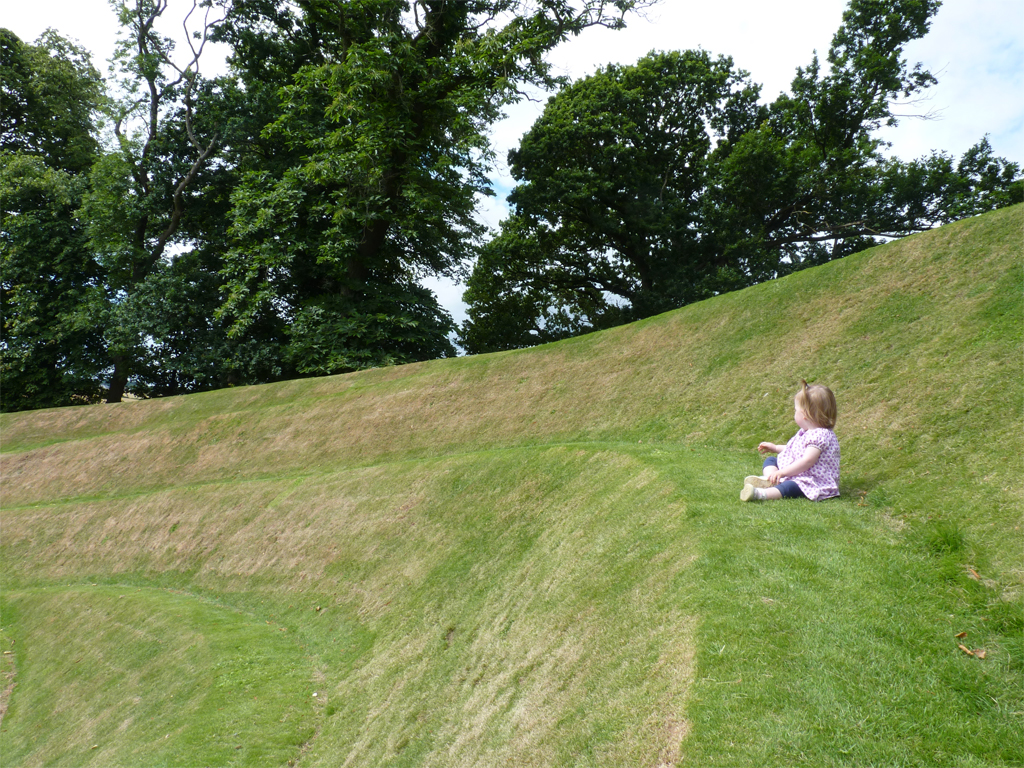 Create fun journeys in your garden or small landforms to climb