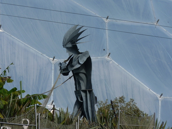 Review of 2011: We visited the amazing Eden Project in 2011