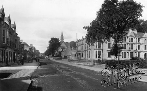 Henderson Street 1899 Bridge of Allan
