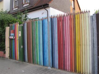 Cool pencil fence