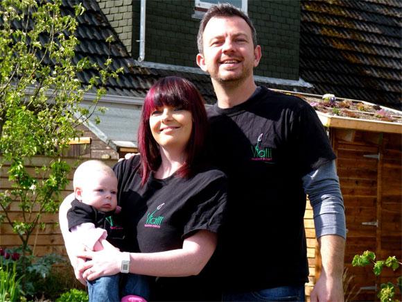 The Vialii Garden Design team!