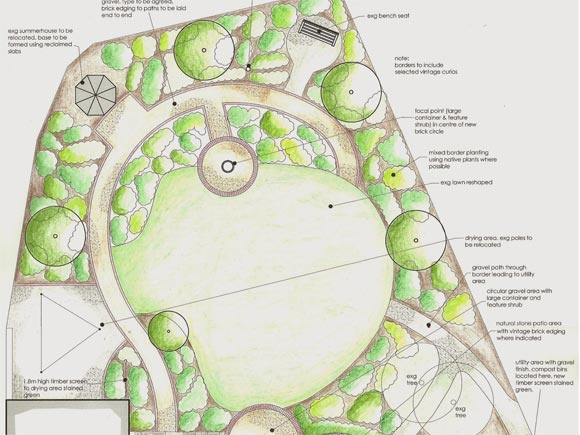 One of our garden designs