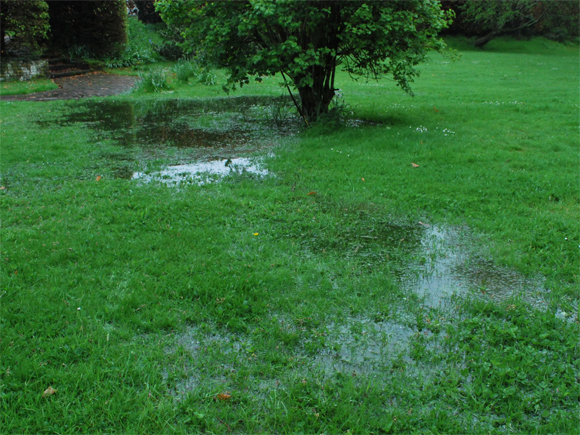 At Vialii we can help ensure you avoid garden drainage issues