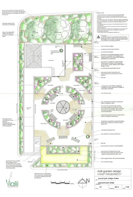 Vialii's design for the new Provost Park