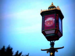 The beautiful, renovated Provost Lamp