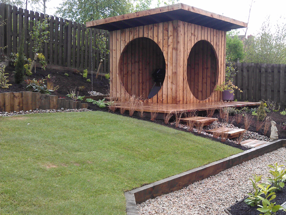 One of our garden transformations
