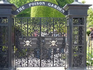 The Poison Garden at Alnwick Gardens
