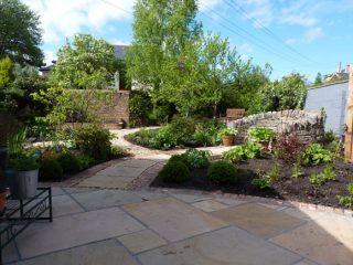 After: a relaxing garden in Edinburgh