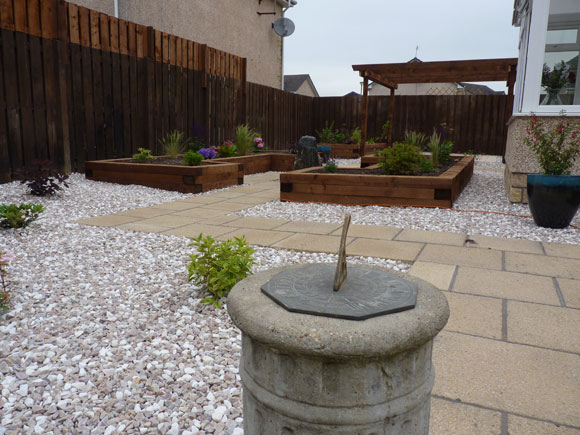 After: all parts of the garden were now usable