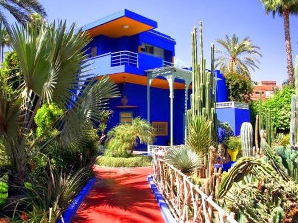 Yves Saint Laurent's Majorelle Garden