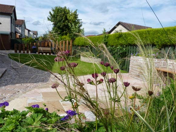 One of the many gardens which we have successfully designed and lovingly built over the years