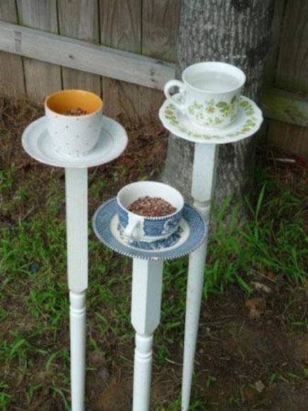 A perfect bird feeder