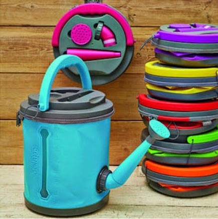 Space saving watering cans