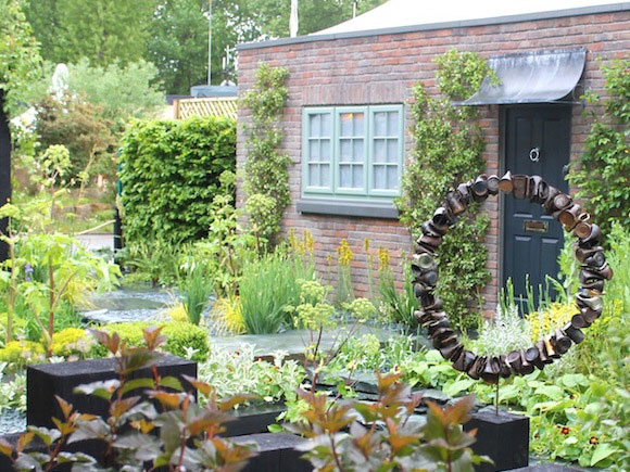 Amateur designer Sean Murray's garden