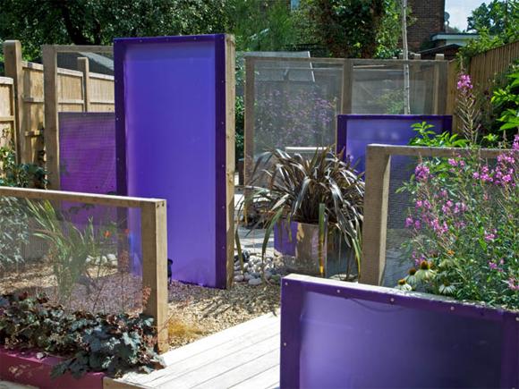 Perspex panels