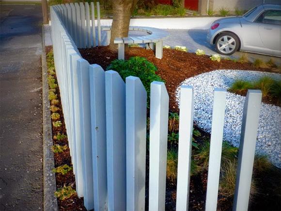 A bespoke fence