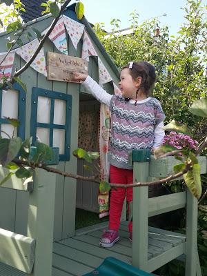My new sign: Lulu & Tilda's House, No Boys Allowed!