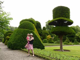 The amazing topiary at Levens Hall Gardens