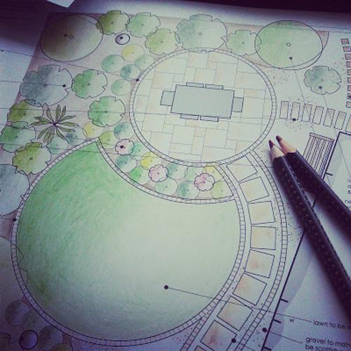 Garden design by Vialii