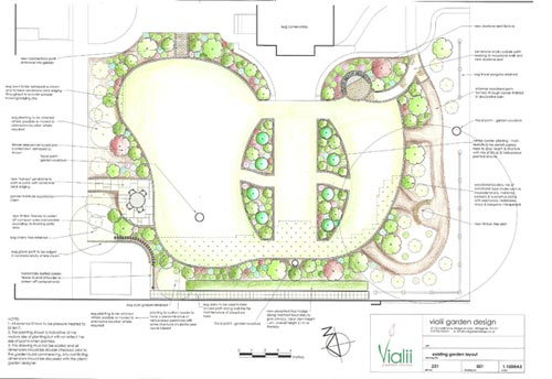 Commission a garden designer at Vialii