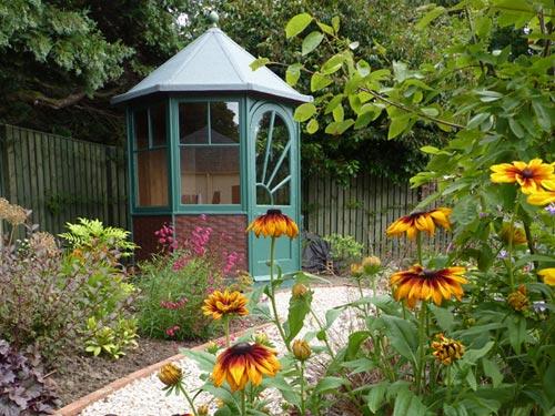 Art deco summerhouse