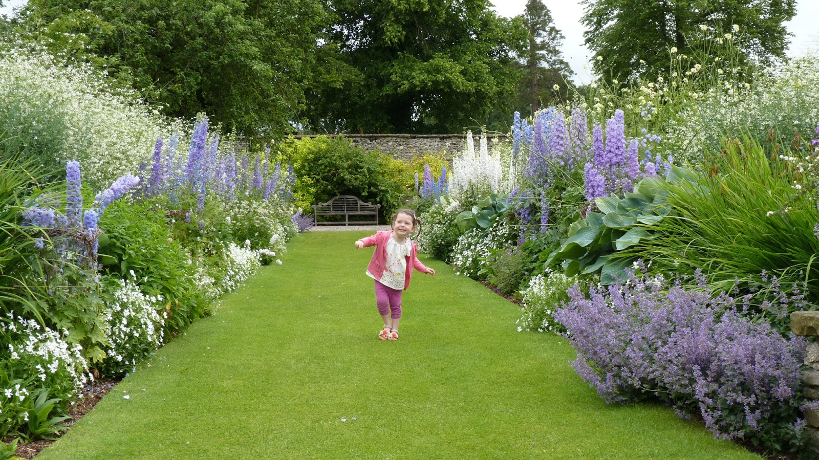 The gardens at Levens Hall in the Lake District are well worth a visit