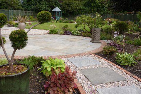 An Arts & Crafts garden in Perth