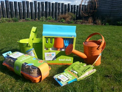 Twigz do a wonderful range of garden tools for children