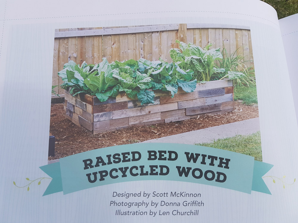 Upcycled wood