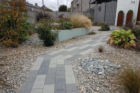 The new paving leads you on a journey