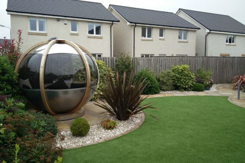 The new garden pod is a great addition to the garden