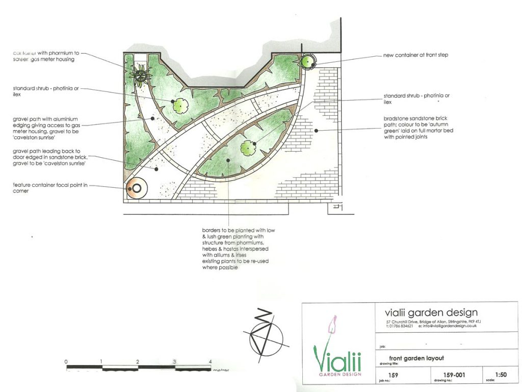 Our design for a welcoming front garden