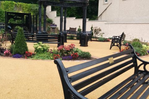 Places to relax in the new Provost's Park