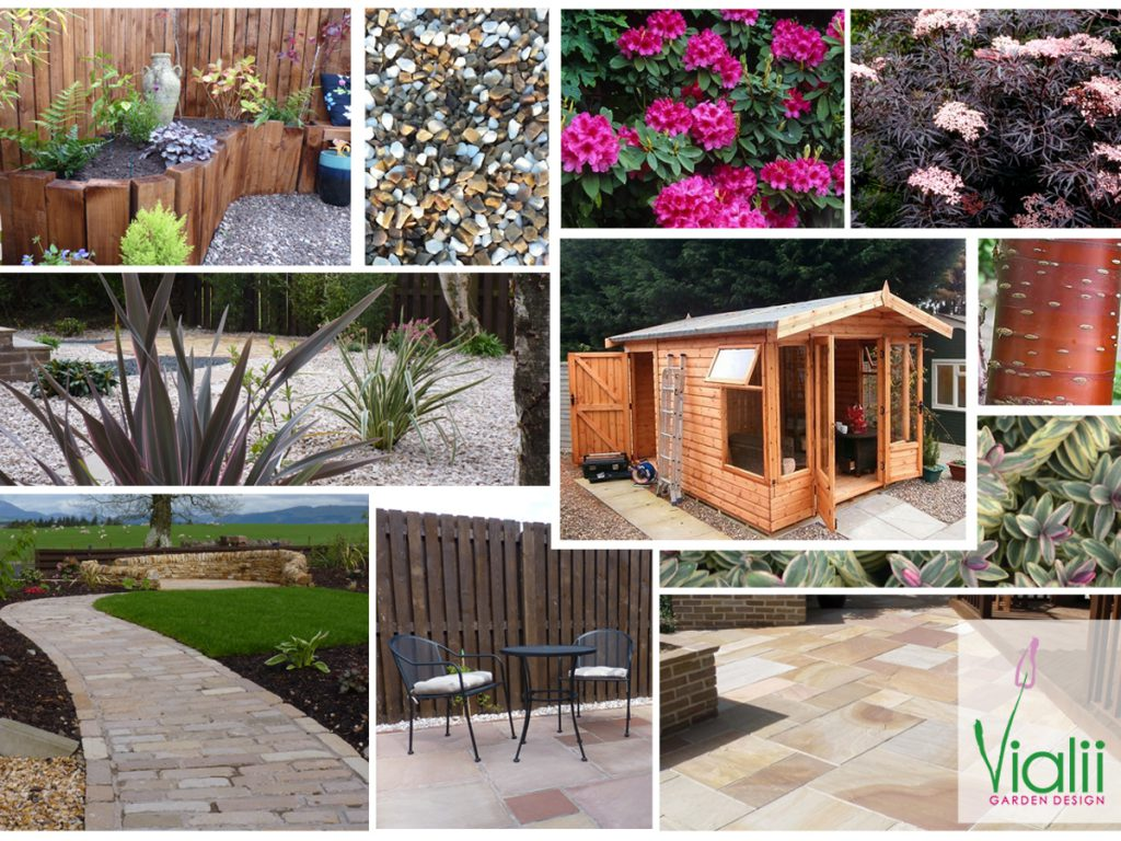 Our moodboard for the new build transformation
