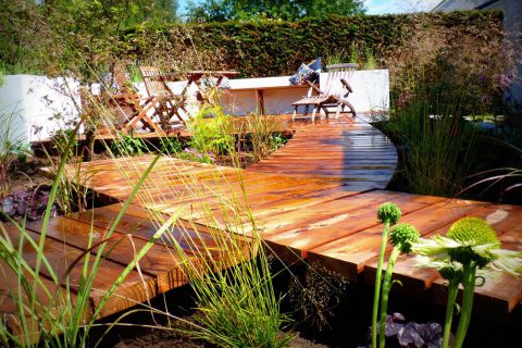A Sociable Garden in Bridge of Allan