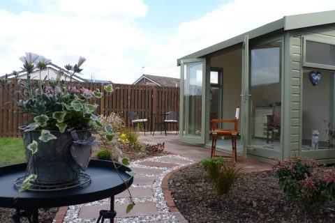 The new garden room