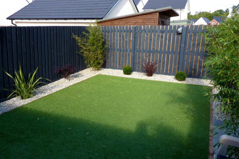 The new artificial grass