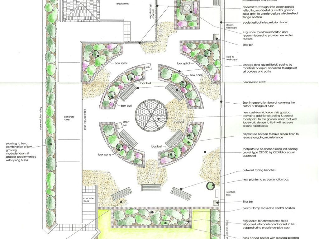 Our design for Provost's Park