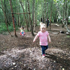 We love exploring in the Children's Wood