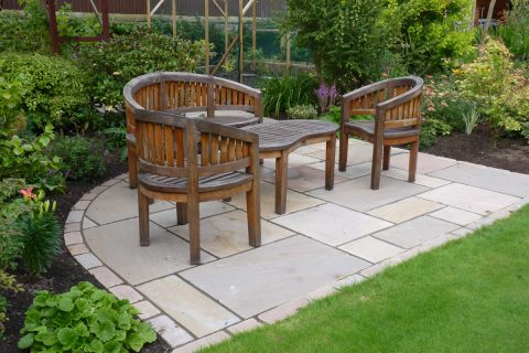 An informal seating area