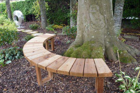 The tree seat